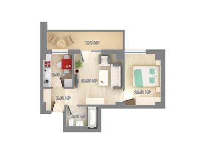 Apartment for sale in Pacurari