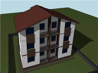 Apartament 2 camere decomandat Bucium + gradina 80mp