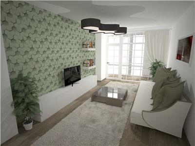 Apartament 3 camere - etaj intermediar 57000