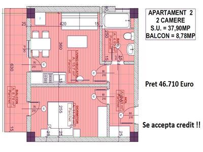 Apartament 46.710Euro - Pacurari