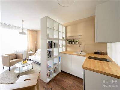 Apartament 2 camere open cu gradina Bucium bloc 2019