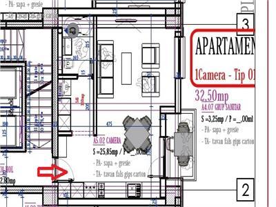 Apartament 1 camera ideal pentru inchiriat - PACURARI