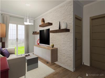 Apartament 2 camera 45mp,Tatarasi bloc nou