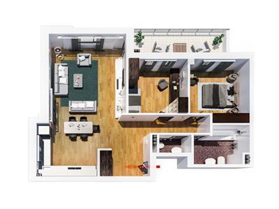 Mutare imediata apartament  3camere, bloc nou Tatarasi