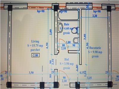 Apartament 1 camera, demisol, decomandat, Bucium - Visan
