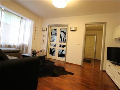 Apartament trei camere Podu Ros lux mobilat si utilat etaj inermediar