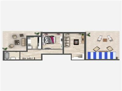 Promo: Apartament cu 2 camera, Bucium, 111.60 mp utili, 70.000 euro