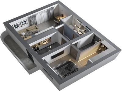 Ideal investitie 2 camere , bloc nou Bucium Poitiers