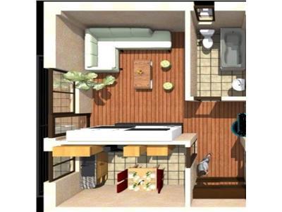 Apartament 1 camera, parcare si boxa ,CUG bl nou