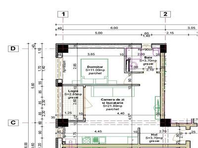 Ideal investitie 2 camere ,43mp, bloc nou CUG capat