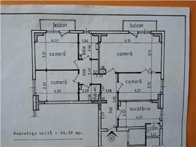 Apartament 4 camere ,Nicolina CUG
