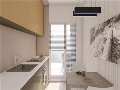 Apartament 2 camere, decomandat, 63 mp, Bucium, 75.000 euro